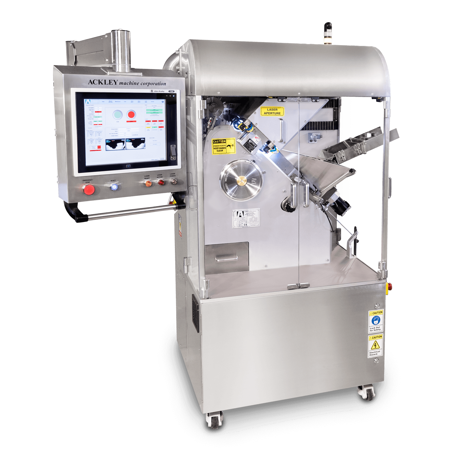 VIP Pharmaceutical Laser Marking or Drilling Machine