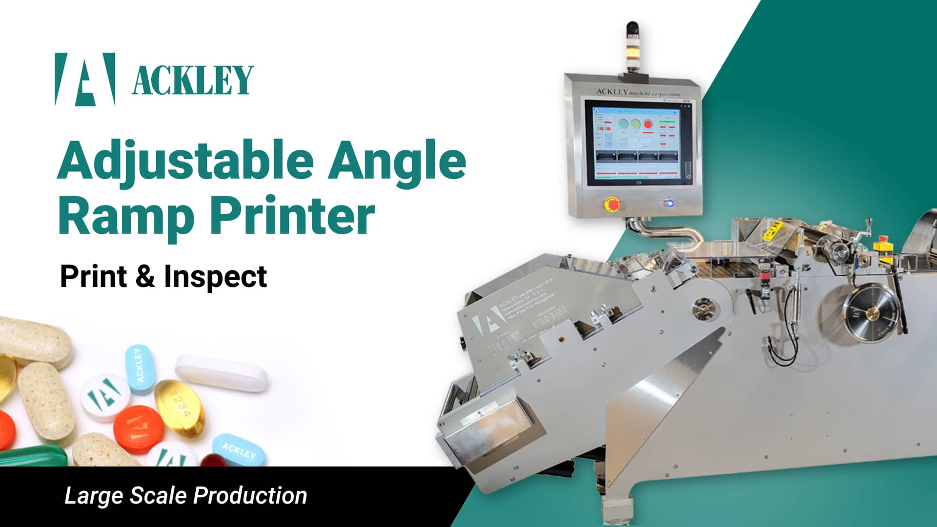 Adjustable Angle Ramp Printer Video